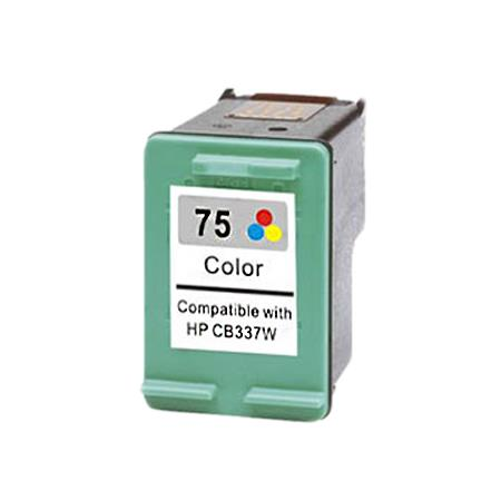 Compatible Color HP 75 Ink Cartridge (Replaces HP CB337WN)