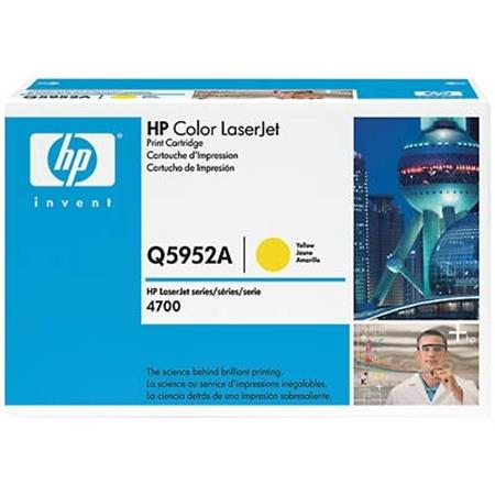 HP Color LaserJet Q5952A Yellow Original Print Cartridge with HP ColorSphere Toner