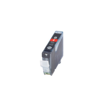 Compatible Red Canon CLI-8R Ink Cartridge (Replaces Canon 0626B002)