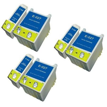 T026/T027 3 Full Sets Remanufactured Inks