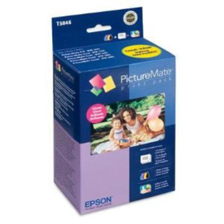 Epson T5846-M Original Color Print Pack - Matte