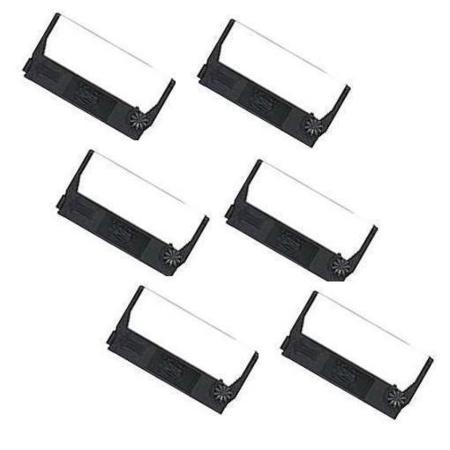 Epson ERC-27 Black Compatible Printer Ribbon (6 Pack)