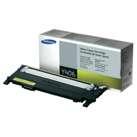 Samsung CLT-Y406S/ELS Yellow Original Standard Yield Toner Cartridge