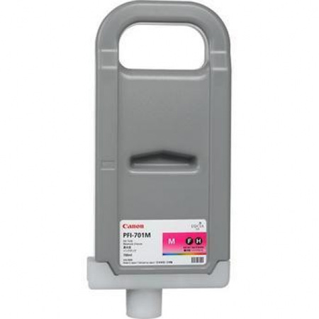 Compatible Magenta Canon PFI-701M Ink Cartridge (Replaces Canon 0902B001AA)
