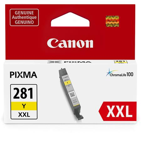 Canon CLI-281YXXL Yellow Original Extra High Capacity Ink Cartridge