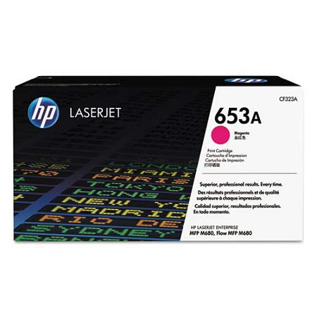 HP 653A Magenta Original Toner Cartridge (CF323A)