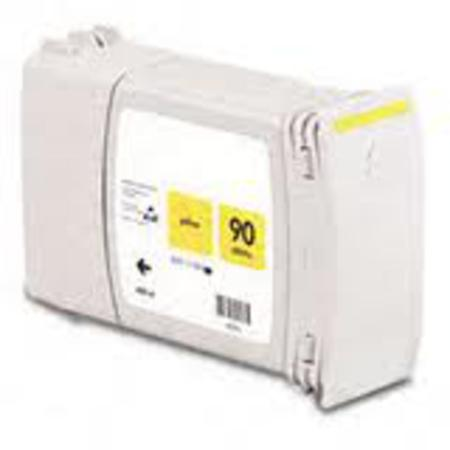 HP 90 Remanufactured Yellow High Capacity Ink Cartridge - (C5065A)