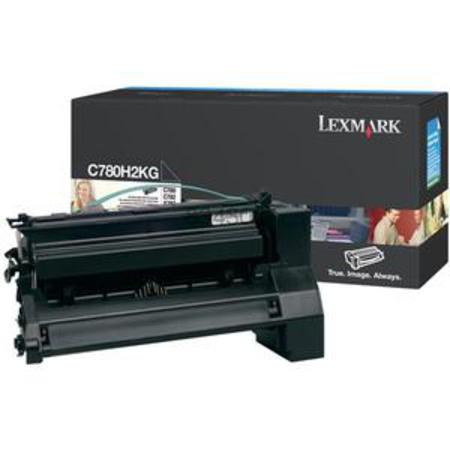 Lexmark C780H2KG Black Original High Yield  Laser Toner Cartridge