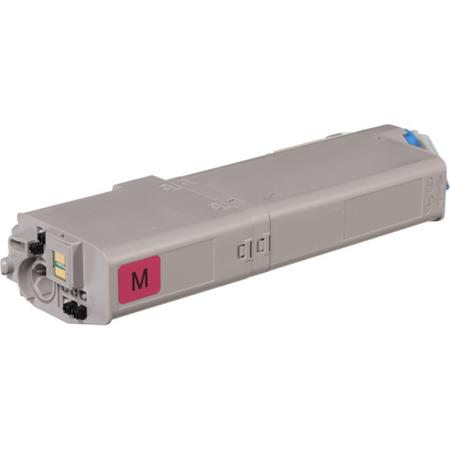 OKI 46490602 Magenta Remanufactured High Capacity Toner Cartridge