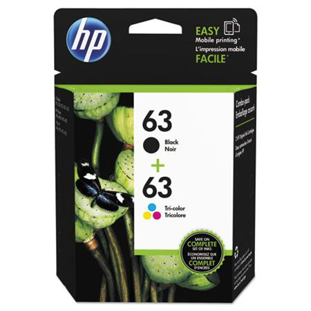 HP 63 Black and Color Original Combo Pack (L0R46AN)