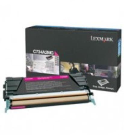 Lexmark C734A2MG Magenta Original Toner Cartridge