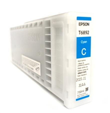 Epson T6892 (T689200) Cyan Original UltraChrome GS2 Ink Cartridge (700ml)