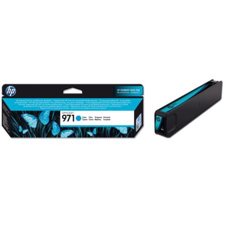 HP 971 Cyan Original Standard Capacity Ink Cartridge (CN622AM)