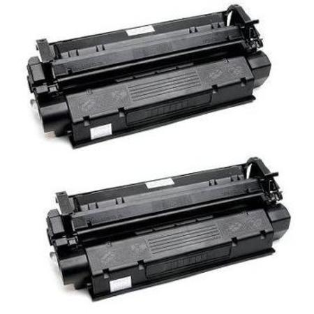 Clickinks X25 Black Remanufactured Toner Cartridges Twin Pack