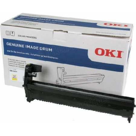 OKI 44844413 Yellow Original Image Drum Unit