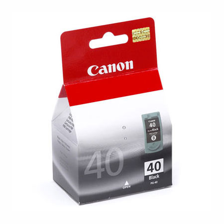 Canon PG-40 Black Standard Capacity Original Cartridge