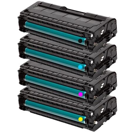 407539/40/41/42 BK/C/M/Y Full Set Remanufactured Toner Cartridges