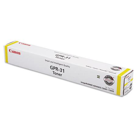 Canon GPR-31 Original Yellow Toner Cartridge (2802B003AA)