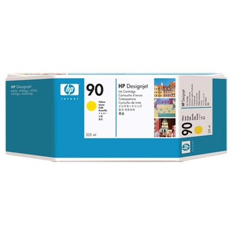 HP 90 Yellow Standard Capacity Ink Cartridge (C5064A)