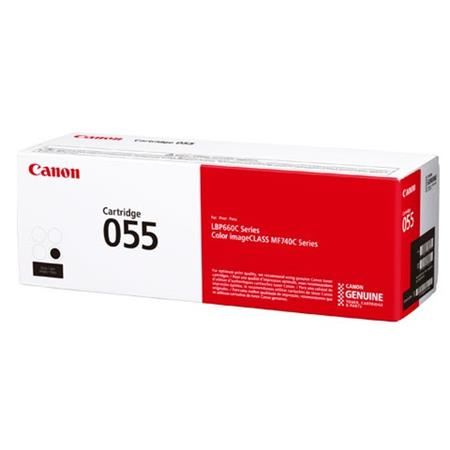 Canon 055 (3016C001) Black Original Standard Capacity Toner Cartridge