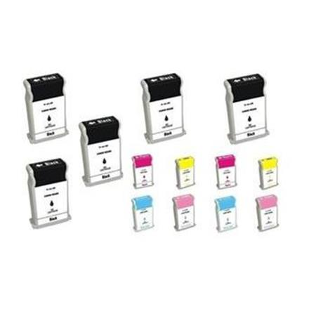 BCI-1302 BK/C/M/Y/LC/LM 2 Full Sets + 3 EXTRA Black Compatible Inks
