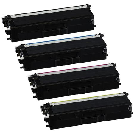 Compatible Multipack Brother TN433BK/C/M/Y Full Set High Capacity Toner Cartridges