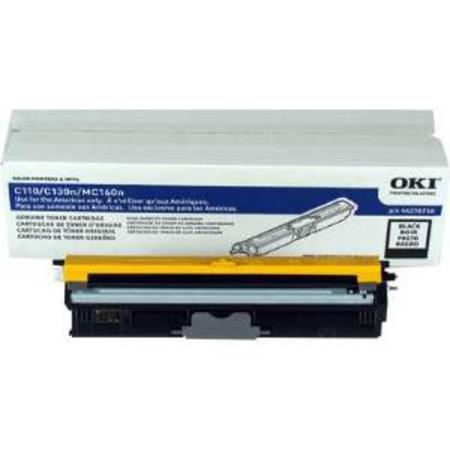 OKI 44250716 Black Original High Capacity Toner Cartridges