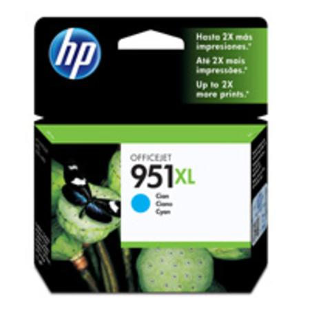 HP 951XL (CN046AN) Cyan Original High Capacity Officejet Ink Cartridge