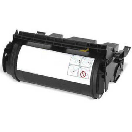 Compatible Black Lexmark 12A0825 Toner Cartridge