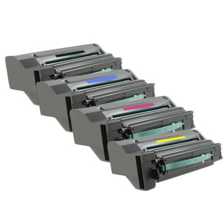 Clickinks C792X2KG/CG/MG/YG Full Set Remanufactured Extra High Capacity Toners Twin Pack