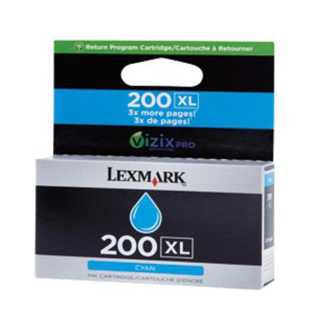 Lexmark No.200XL (14L0175) Original Cyan High Yield Return Program ink Cartridge