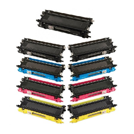 TN210 2 Full Sets + 1 EXTRA Black Remanufactured Toner Cartridge