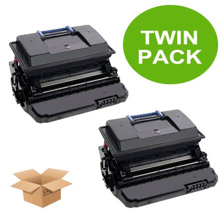 330-2045 Black Remanufactured High Capacity Toners Twin Pack