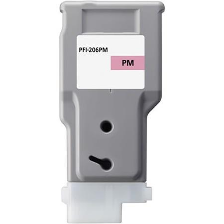 Compatible PhotoMagenta Canon PFI-206PM Ink Cartridge (Replaces Canon 5308B001AA)