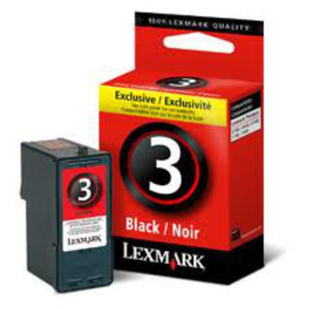 Lexmark No.3 (18C1530) Original Black Ink Cartridge