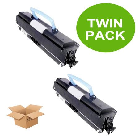 310-8700 Black Remanufactured High Capacity Toners Twin Pack