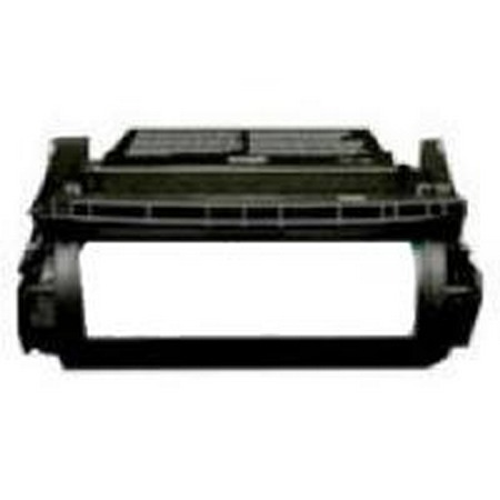 Lexmark 12A6735 Black Remanufactured Micr Toner Cartridge