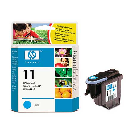 HP 11 Cyan Original Printhead (C4811A)