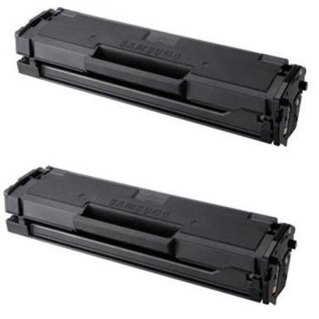 Clickinks MLT-D101S Black Remanufactured Toner Cartridge Twin Pack
