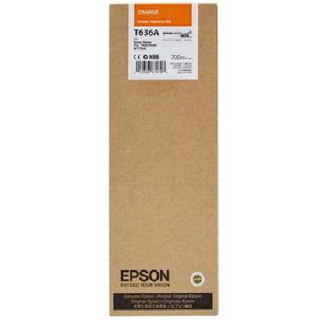 Epson T636A (T636900) Original Orange Ink Cartridge