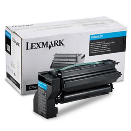 Lexmark 15G032C Original Cyan High Yield Toner Cartridge