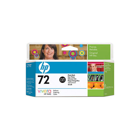 HP 72 (C9370A) Original Black High Capacity Ink Cartridge