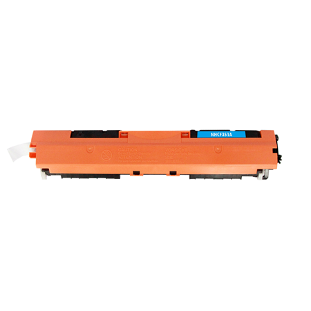 HP 130A Cyan Remanufactured Toner Cartridge (CF351A)