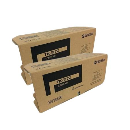 Kyocera TK-3172K Black Original Toner Cartridges Twin Pack
