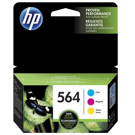 HP 564 (N9H57FN) CMY Original Standard Capacity Ink Cartridges (Triple Pack)