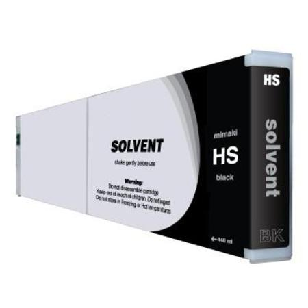 Mimaki HS Compatible Hard Solvent Black Inkjet Cartridge