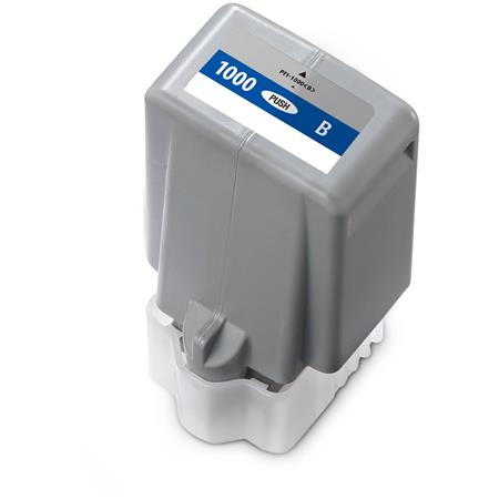 Compatible Blue Canon PFI-1000B Ink Cartridge (Replaces Canon 0555C001)