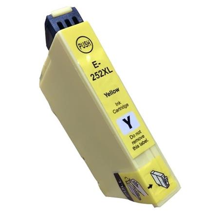 Compatible Yellow Epson 252XL Ink Cartridge (Replaces Epson T252XL420)