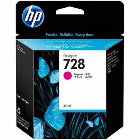 HP 728 (F9J62A) Magenta Original Standard Capacity Ink Cartridge