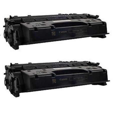 120 Black Remanufactured Toner Cartridges Twin Pack